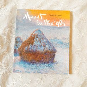 Monet in the 90s Coffee Table Book